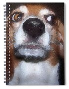 Lady 2 Spiral Notebook