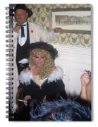 Lady And Gent Homage Celebrants Crystal Palace Saloon Tombstone Arizona 1932-2004 Spiral Notebook