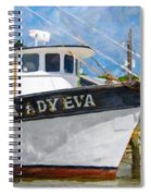 Lady Eva Spiral Notebook