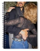 Lady For A Night Homage 1942 Dancers Crystal Palace Saloon Tombstone Arizona 2004 Spiral Notebook