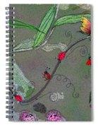 Ladybug Slide Spiral Notebook
