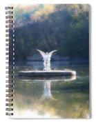 Lake Angel Spiral Notebook