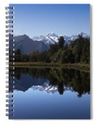 Lake Matheson New Zealand Spiral Notebook