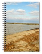 Lake Ontario Shoreline Spiral Notebook