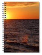 Lake Ontario Sunset Spiral Notebook
