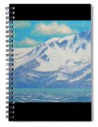 Lake Tahoe After The Storm Triptych Spiral Notebook