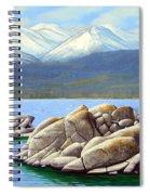 Lake Tahoe Sand Harbor Spiral Notebook