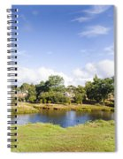 Lake Waratah In North-west Tasmania Australia Spiral Notebook