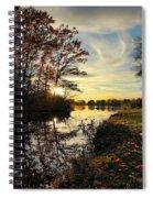 Lake Wausau Sunset Spiral Notebook