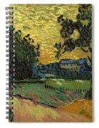 Landscape At Twilight Spiral Notebook