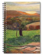 Landscape From Bretagne Spiral Notebook