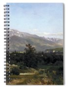 Landscape In Dauphine Spiral Notebook