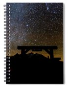 Last Dollar Gate And Milky Way Starry Spiral Notebook