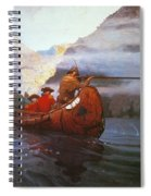 Last Of The Mohicans, 1919 Spiral Notebook