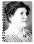 Laura Ingalls Wilder (1867-1957) Spiral Notebook