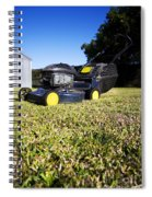 Lawn Mower Spiral Notebook