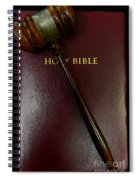 Lawyer - Truth And Justice  Spiral Notebook