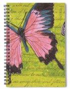 Le Papillon 2 Spiral Notebook