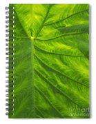 Leafy Green Spiral Notebook