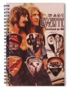Led Zeppelin Art Spiral Notebook