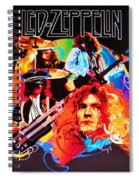 Led Zeppelin Art Spiral Notebook