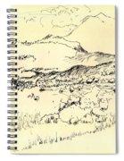 Lefka Ori Spiral Notebook