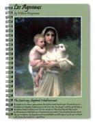 Les Agneaux Spiral Notebook