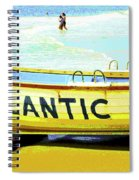 Lifeboat Atlantic City New Jersey Spiral Notebook