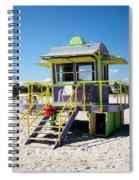 Lifeguard Station Spiral Notebook