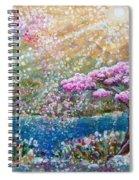 Light Of Spring Spiral Notebook