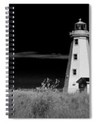 Lighthouse At North Cape On Pei Spiral Notebook