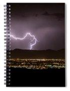 Lightning 9 Spiral Notebook
