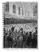 Lincoln Assassination, 1865 Spiral Notebook