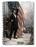 Lincoln Independence Hall Spiral Notebook