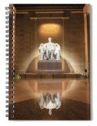 Washington Dc - Lincoln Memorial Spiral Notebook