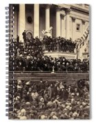 Lincoln's Inauguration, 1865 Spiral Notebook