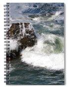 Linda Mar Beach Surf Spiral Notebook