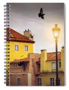 Lisbon Houses Spiral Notebook