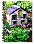 Little Garden Farmhouse Spiral Notebook