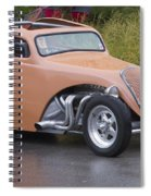 Little Peach Spiral Notebook