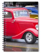 Little Red Coup Spiral Notebook