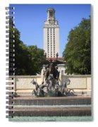 Littlefield Fountain - University Of Texas Spiral Notebook