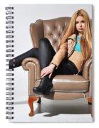 Liuda13 Spiral Notebook