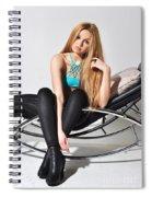Liuda14 Spiral Notebook