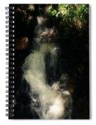 Llangollen And Maelor Country Waterfalls Spiral Notebook