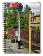 Llangollen Railway Station Spiral Notebook