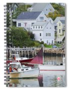 Lobster Fishing Boats Spiral Notebook