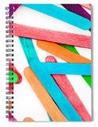 Lollipop Sticks Spiral Notebook