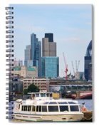 London Old And New 5838 Spiral Notebook