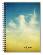 Lonely Seagull Spiral Notebook